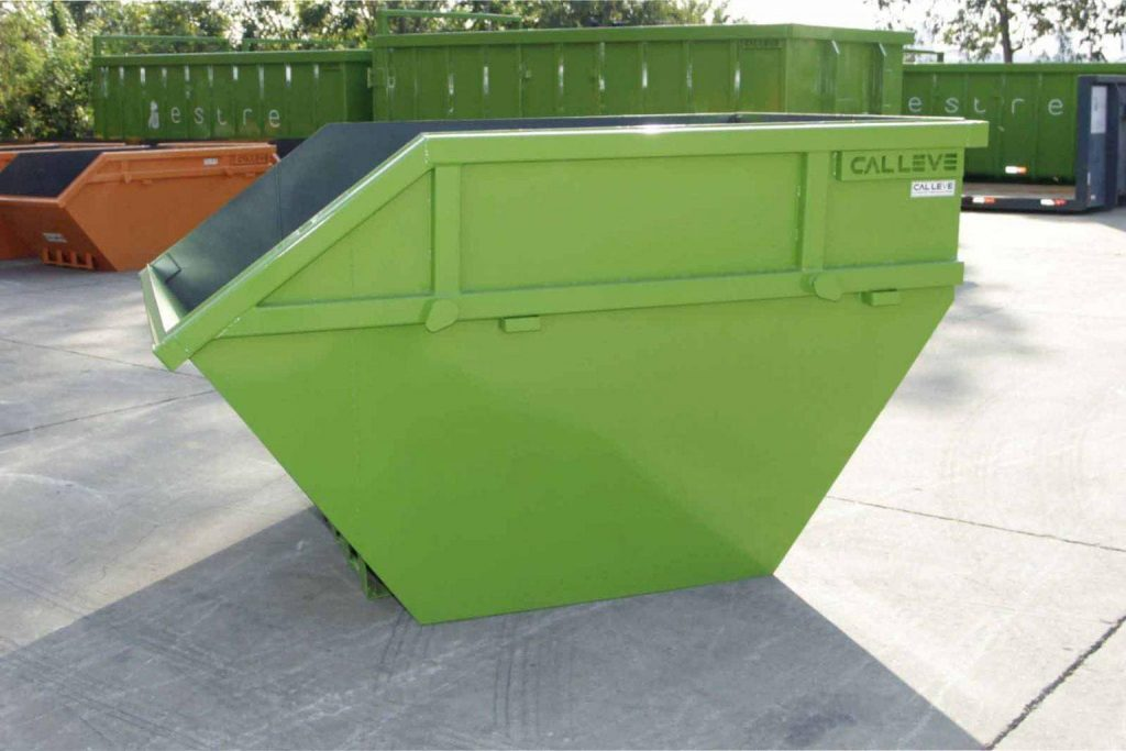 O que é e qual a função de uma caçamba para lixo?