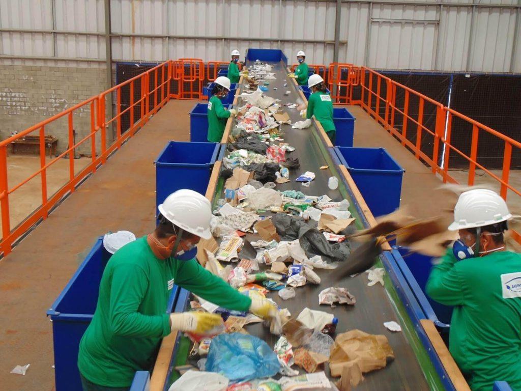 sistema de tratamento do lixo no brasil
