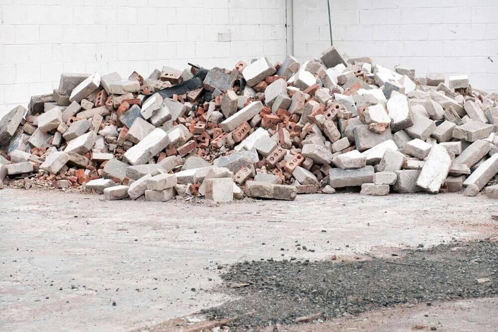 materiais de construção reutilizaveis