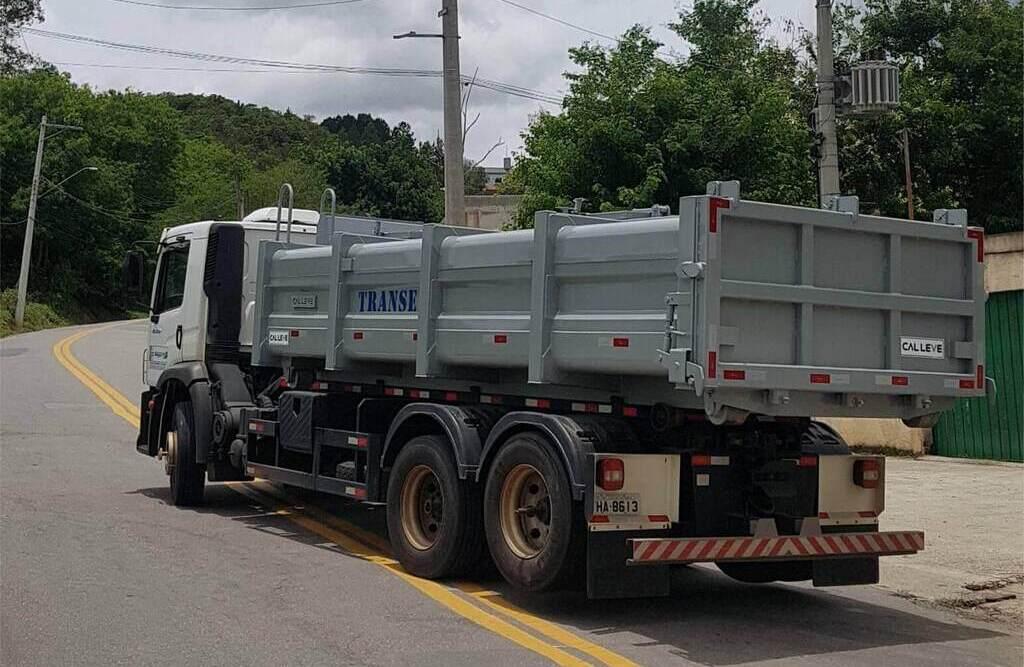 como transportar resíduos sólidos