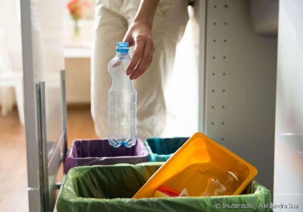 tipos de plástico recicláveis