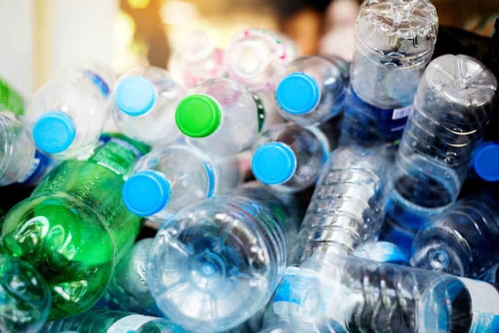separação de plástico para reciclagem